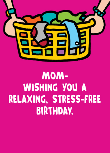 funny birthday card relaxing birthday for mom from cardfool com