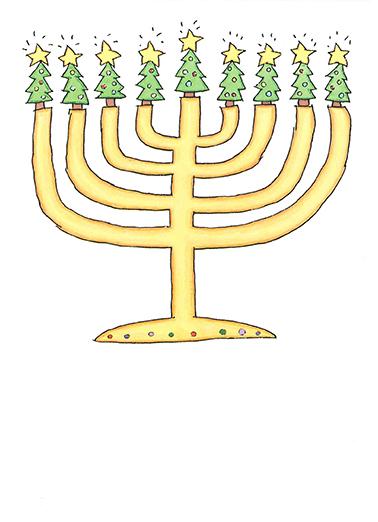 funny hanukkah card shine bright from cardfoolcom - Funny Hanukkah Cards